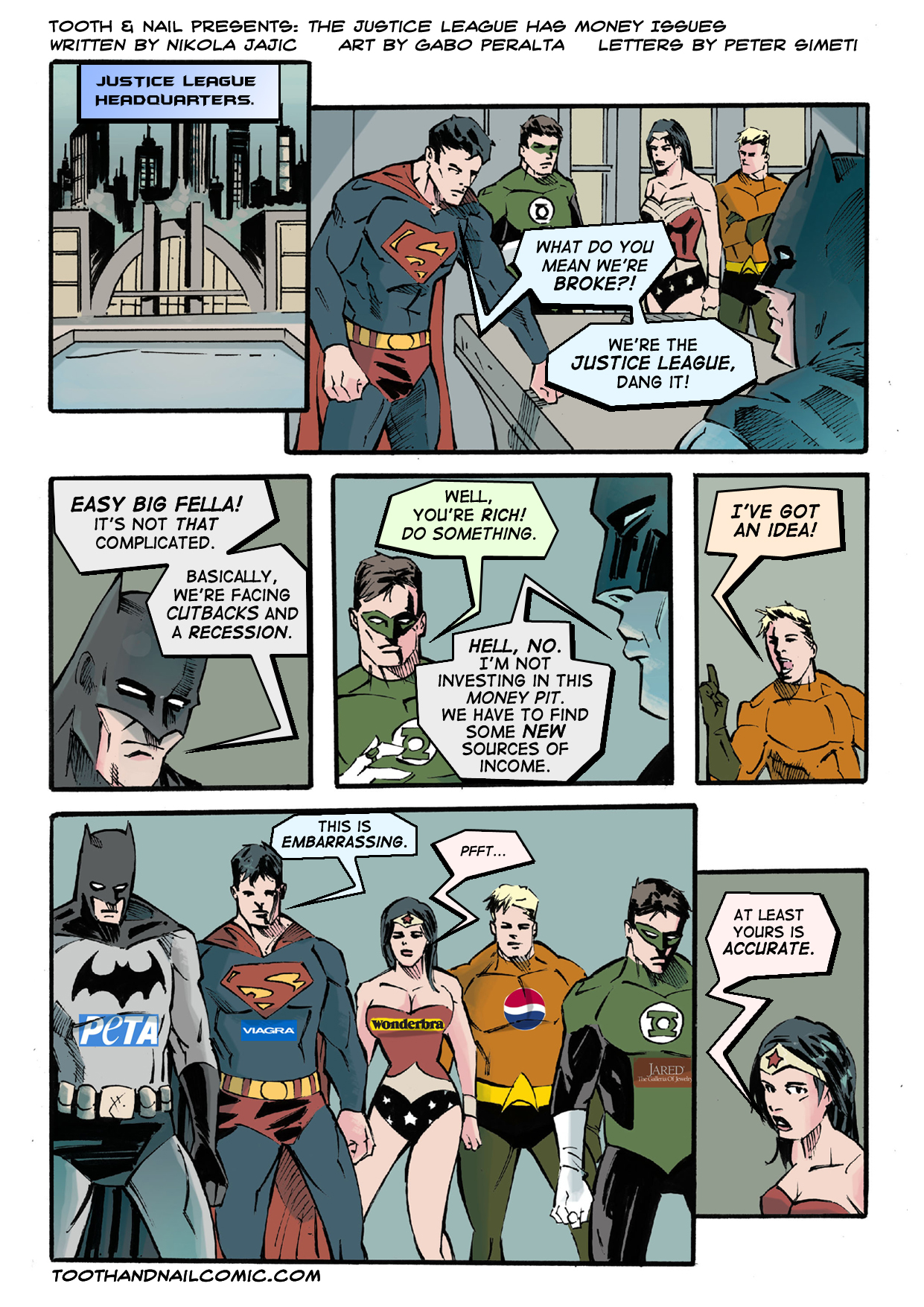 10 DC Comics Perfect for New Readers |Justice League Comic Strip